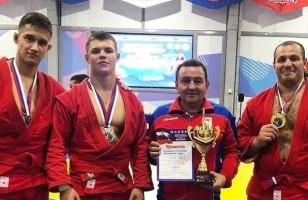 7 медалей на Всероссийских соревнованиях по самбо «Кубок Сибири»