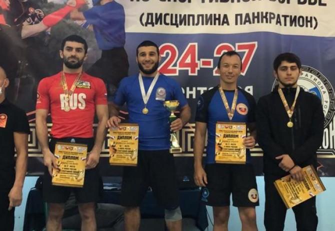 Спортсмены Красноярского края стали обладателями Кубка России по панкратиону