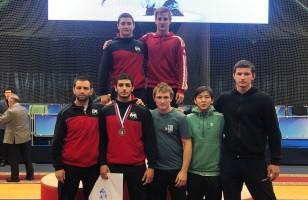 Бронзовая медаль на Всероссийских соревнованиях по греко-римской борьбе