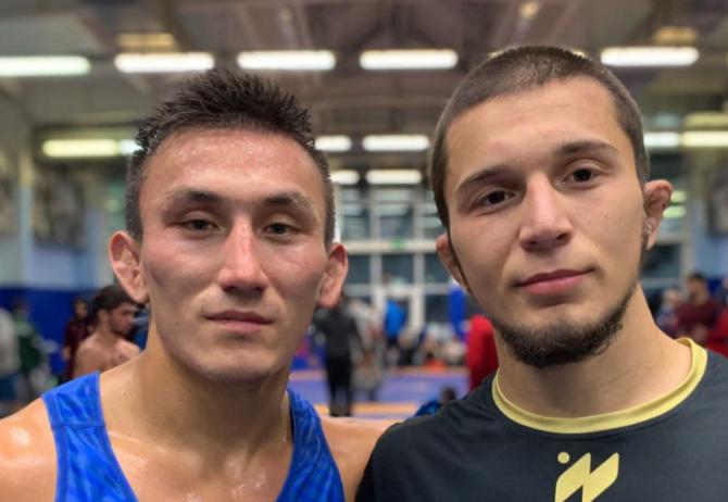 Артур Чебодаев стал победителем первенства России по вольной борьбе